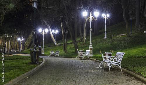 Aluminium Turkey Gulhane Park in Istanbul