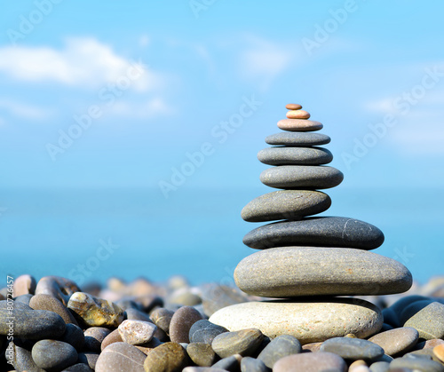 Foto op Canvas Ontspanning Stones balance