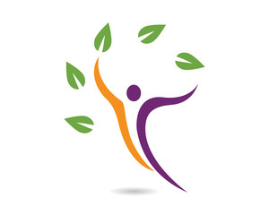 Healthy Life Logo Template 1