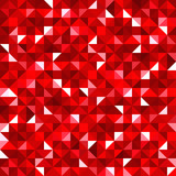 Abstract seamless background with red mosaic pattern. Vector. - 80728201
