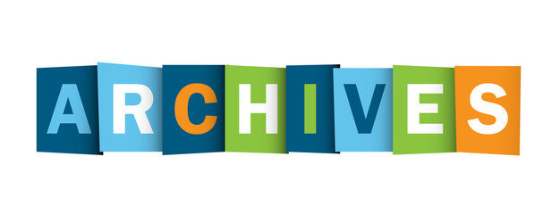 ARCHIVES icon (files information download subscription)