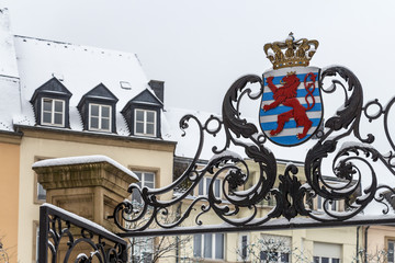 Winter Luxembourg, Europe