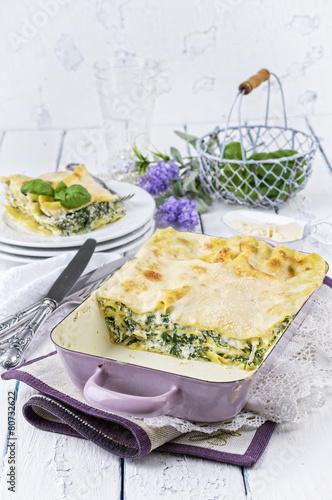 Spinach Lasagne - 80732622