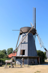 HOLLAND WINDMILL IN ESTONIA