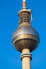 Berlin TV Tower.  Fersehturm in Berlin