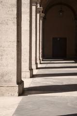 Cortile della Chiesa di Sant'Ivo alla Sapienza