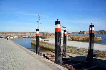 puerto pesquero  en Comillas, Cantabria