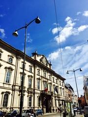 Milano, Corso Magenta a Palazzo Litta