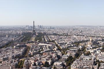 Paris, aerial view.