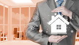 Home insurance concept. - 80737860