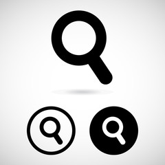 zoom in and zoom out icon great for any use. Vector EPS10