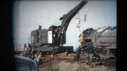 8mm Vintage - 60's Duluth Railroad Industry
