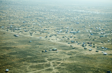 aerial view of Juba, South Sudan