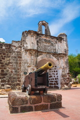Canon at fort Formoza