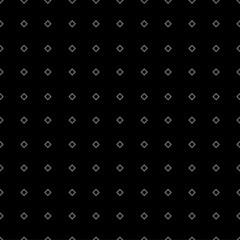 Vector seamless monochrome minimalistic pattern. Modern stylish