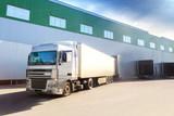 truck, warehouse