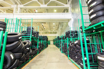 tire, warehouse