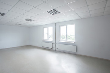 modern empty office room