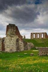 Resti dell'antico teatro romano - Gubbio