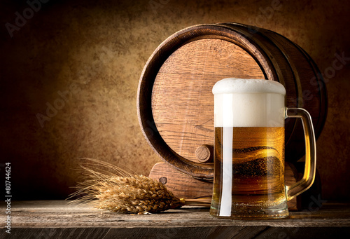 Still life with beer - 80744624