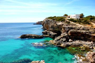 Bucht mit Finca auf Mallorca