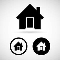 home icon great for any use. Vector EPS10.