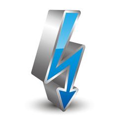 High Voltage 3D icon