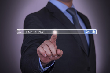 Business Experience Search button