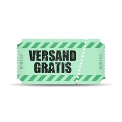 ticket v3 versand gratis I