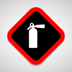 Fire Extinguisher icons set great for any use. Vector EPS10.