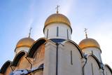Dormition church in Moscow Kremlin. UNESCO World Heritage Site.