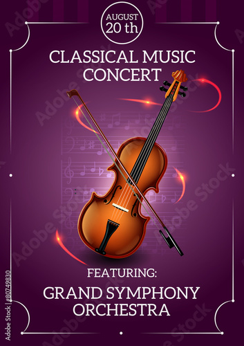 Classic Music Poster - 80749830