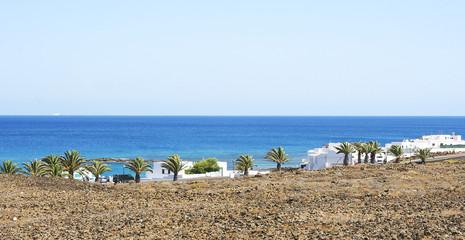 Panorámica de la Costa Teguise, Lanzarote Islas Canarias