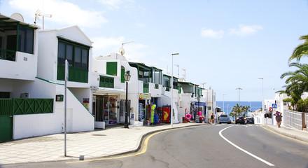 Calle en el Puerto del Carmen, LanzaroteA