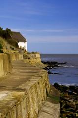 Runswick Bay Sea Wall