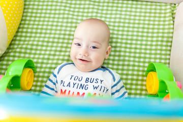 Happy baby boy