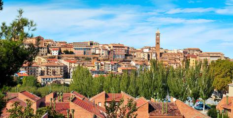 panoramic view of Tarazona, in the province of Zaragoza, Spain