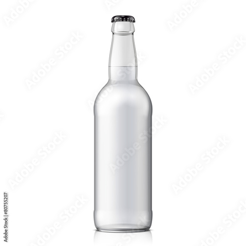 Mock Up Glass Beer Clean Bottle - 80755207