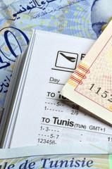 دينار تونسي Tunisian dinar Dinaro tunisino tunisien