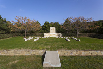 Anzac Memorial at Gallipoli / their name liveth for evermore