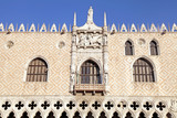The Doge's Palace (Italian Palazzo Ducale), Venice, Italy.