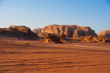 Off-road Wadi Rum desert