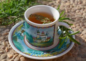 Rosemary tea.