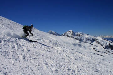 Scialpinisti sul Piccolo Colbricon