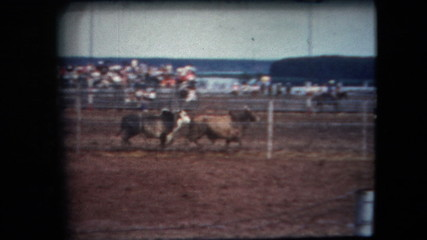 8mm Vintage - 60's California Rodeo and Stunt Show