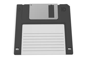 black floppy disk