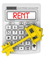 Аренда недвижимости (Real estate rent). Концепция