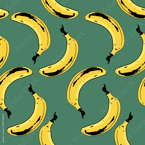 Bananas Seamless Pattern - 80760842