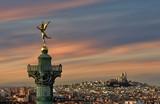 Génie de la Liberté et le Sacré-Coeur - 80761664
