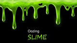 Oozing slime seamlessly repeatable - 80763445